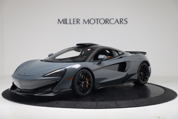 New 2019 McLaren 600LT Coupe for sale $311,619 at Bugatti of Greenwich in Greenwich CT 06830 1
