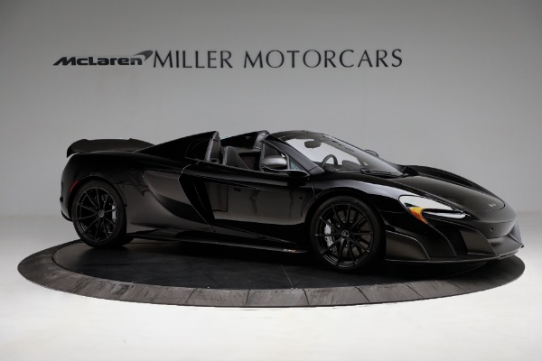 Used 2016 McLaren 675LT Convertible for sale Sold at Bugatti of Greenwich in Greenwich CT 06830 10