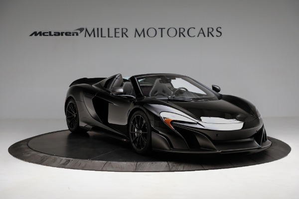 Used 2016 McLaren 675LT Convertible for sale Sold at Bugatti of Greenwich in Greenwich CT 06830 11