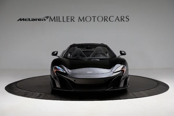 Used 2016 McLaren 675LT Convertible for sale Sold at Bugatti of Greenwich in Greenwich CT 06830 12