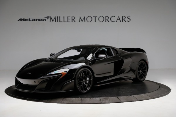 Used 2016 McLaren 675LT Convertible for sale Sold at Bugatti of Greenwich in Greenwich CT 06830 13