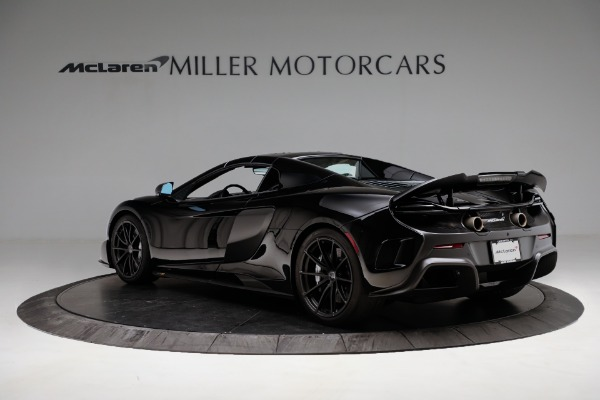 Used 2016 McLaren 675LT Convertible for sale Sold at Bugatti of Greenwich in Greenwich CT 06830 15