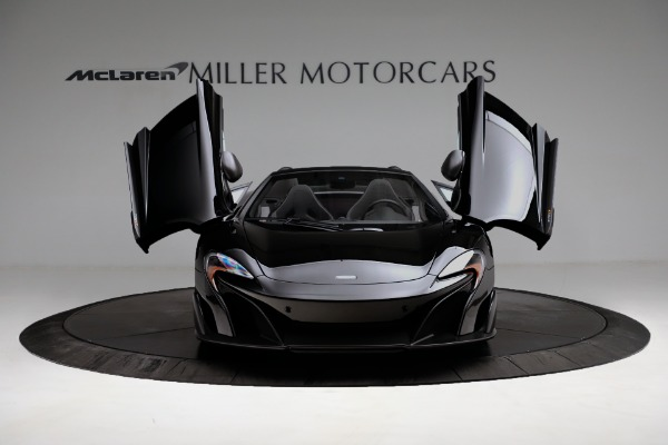 Used 2016 McLaren 675LT Convertible for sale Sold at Bugatti of Greenwich in Greenwich CT 06830 19