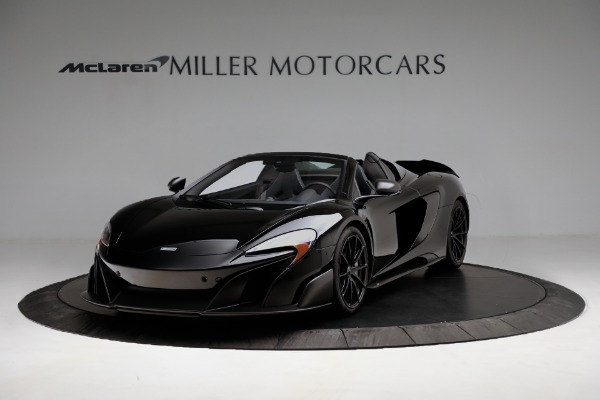 Used 2016 McLaren 675LT Convertible for sale Sold at Bugatti of Greenwich in Greenwich CT 06830 2