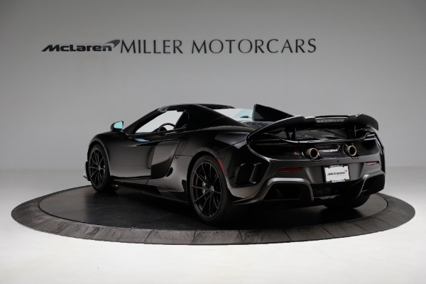 Used 2016 McLaren 675LT Convertible for sale Sold at Bugatti of Greenwich in Greenwich CT 06830 5