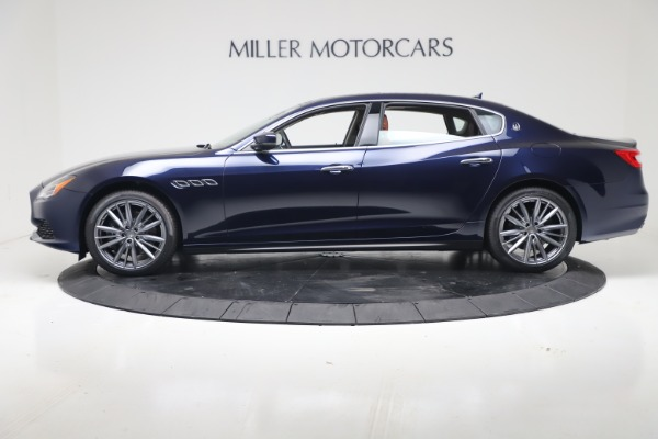 New 2019 Maserati Quattroporte S Q4 for sale Sold at Bugatti of Greenwich in Greenwich CT 06830 3