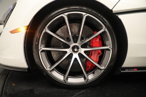 New 2020 McLaren 570S for sale $215,600 at Bugatti of Greenwich in Greenwich CT 06830 15
