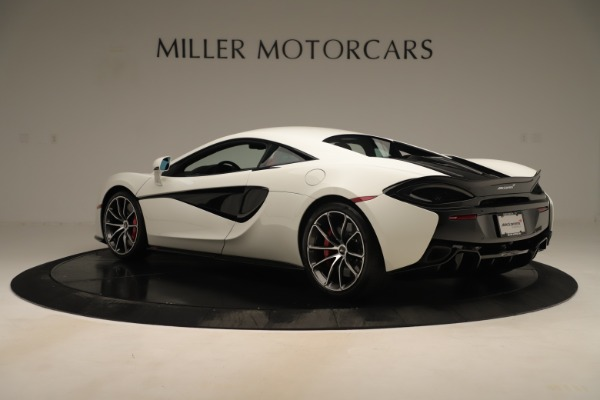 New 2020 McLaren 570S Coupe for sale $215,600 at Bugatti of Greenwich in Greenwich CT 06830 3