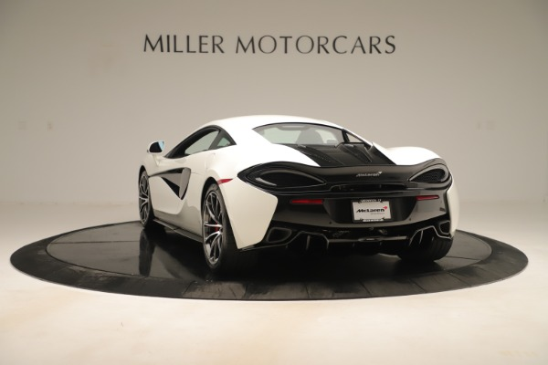 New 2020 McLaren 570S Coupe for sale $215,600 at Bugatti of Greenwich in Greenwich CT 06830 4