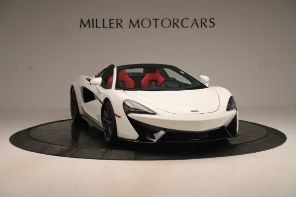 New 2020 McLaren 570S Convertible for sale Sold at Bugatti of Greenwich in Greenwich CT 06830 10