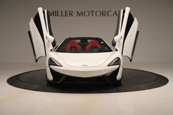 New 2020 McLaren 570S Convertible for sale Sold at Bugatti of Greenwich in Greenwich CT 06830 12