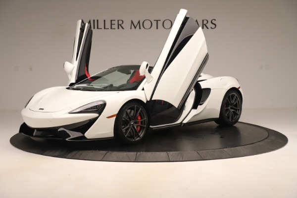 New 2020 McLaren 570S Convertible for sale Sold at Bugatti of Greenwich in Greenwich CT 06830 13