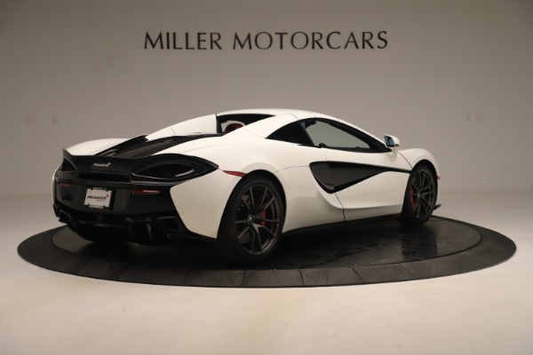 New 2020 McLaren 570S Convertible for sale Sold at Bugatti of Greenwich in Greenwich CT 06830 18