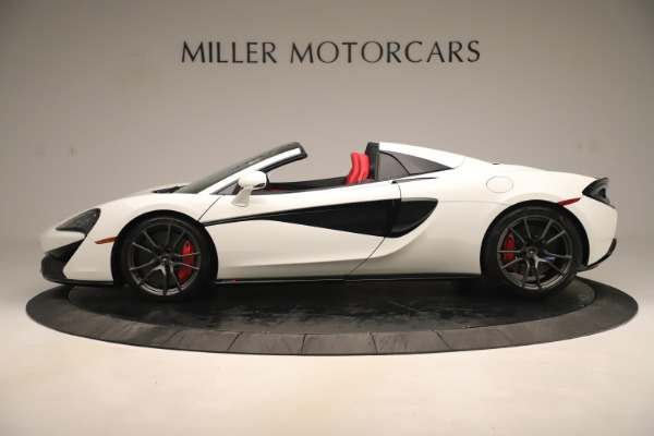New 2020 McLaren 570S Convertible for sale Sold at Bugatti of Greenwich in Greenwich CT 06830 2