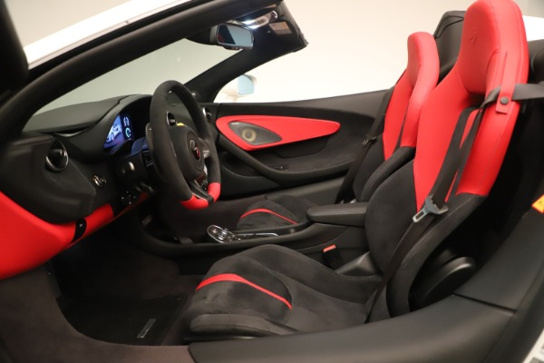 New 2020 McLaren 570S Convertible for sale Sold at Bugatti of Greenwich in Greenwich CT 06830 23