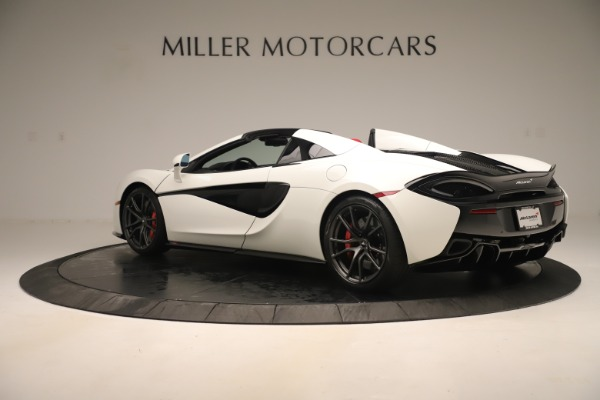 New 2020 McLaren 570S Convertible for sale Sold at Bugatti of Greenwich in Greenwich CT 06830 3