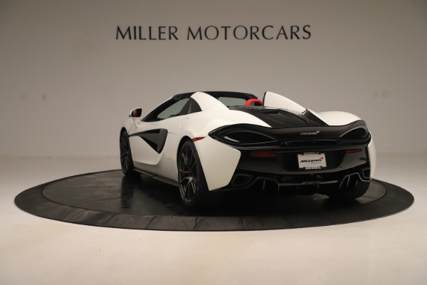 New 2020 McLaren 570S Convertible for sale Sold at Bugatti of Greenwich in Greenwich CT 06830 4