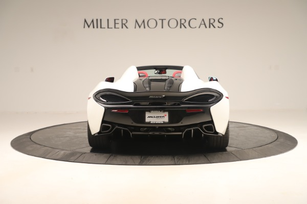 New 2020 McLaren 570S Convertible for sale Sold at Bugatti of Greenwich in Greenwich CT 06830 5