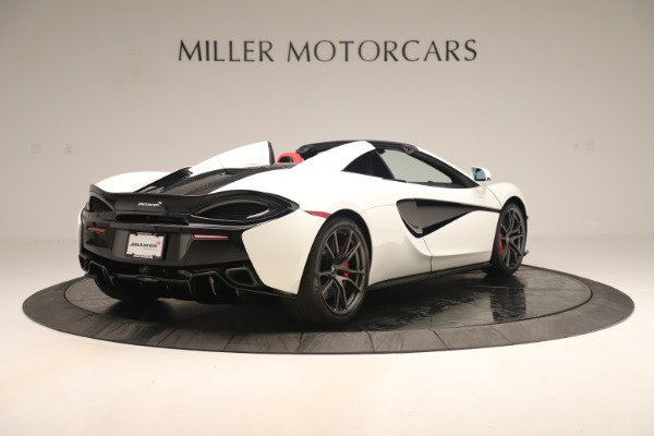 New 2020 McLaren 570S Convertible for sale Sold at Bugatti of Greenwich in Greenwich CT 06830 6