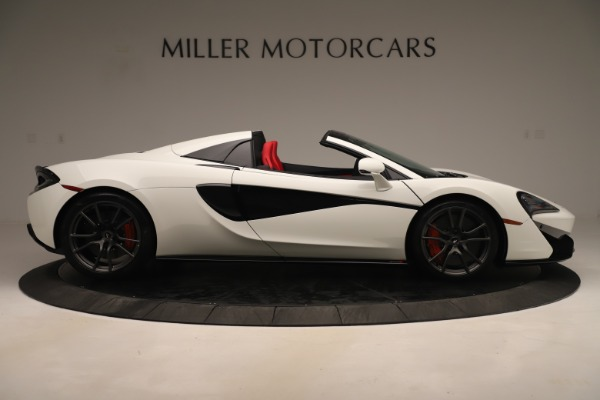 New 2020 McLaren 570S Convertible for sale Sold at Bugatti of Greenwich in Greenwich CT 06830 8