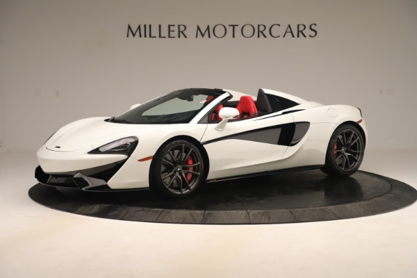 New 2020 McLaren 570S Convertible for sale Sold at Bugatti of Greenwich in Greenwich CT 06830 1