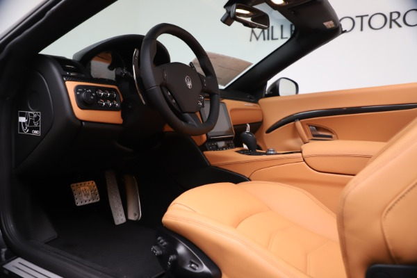 New 2019 Maserati GranTurismo MC Convertible for sale $178,745 at Bugatti of Greenwich in Greenwich CT 06830 20