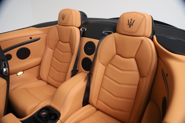 New 2019 Maserati GranTurismo MC Convertible for sale $178,745 at Bugatti of Greenwich in Greenwich CT 06830 24