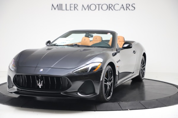 New 2019 Maserati GranTurismo MC Convertible for sale $178,745 at Bugatti of Greenwich in Greenwich CT 06830 1