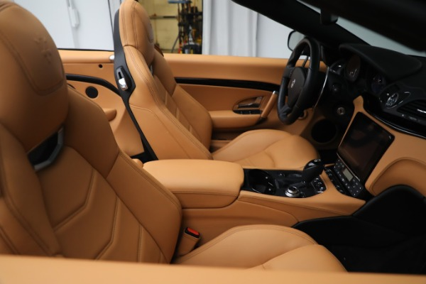 New 2019 Maserati GranTurismo Sport Convertible for sale Sold at Bugatti of Greenwich in Greenwich CT 06830 21