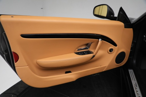New 2019 Maserati GranTurismo Sport Convertible for sale $164,075 at Bugatti of Greenwich in Greenwich CT 06830 25