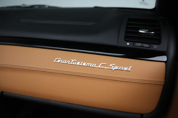 New 2019 Maserati GranTurismo Sport Convertible for sale Sold at Bugatti of Greenwich in Greenwich CT 06830 26