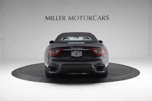 New 2019 Maserati GranTurismo Sport Convertible for sale $164,075 at Bugatti of Greenwich in Greenwich CT 06830 5