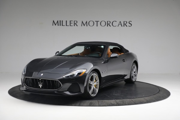 New 2019 Maserati GranTurismo Sport Convertible for sale Sold at Bugatti of Greenwich in Greenwich CT 06830 1