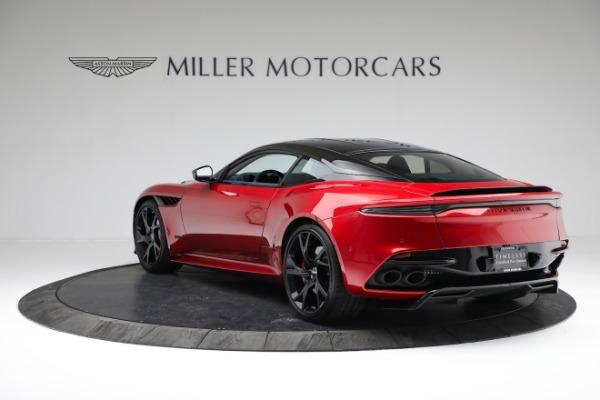 Used 2019 Aston Martin DBS Superleggera for sale Sold at Bugatti of Greenwich in Greenwich CT 06830 4