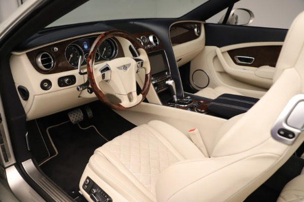 Used 2016 Bentley Continental GTC W12 for sale Call for price at Bugatti of Greenwich in Greenwich CT 06830 23