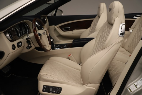 Used 2016 Bentley Continental GTC W12 for sale Call for price at Bugatti of Greenwich in Greenwich CT 06830 24