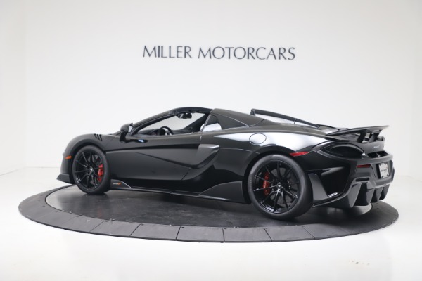Used 2020 McLaren 600LT Spider for sale $249,900 at Bugatti of Greenwich in Greenwich CT 06830 13