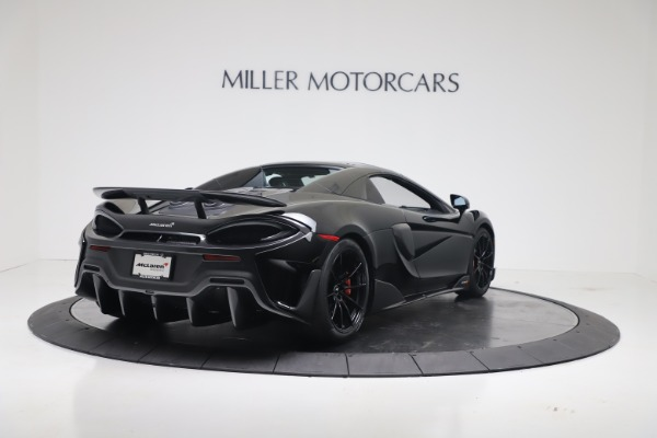 Used 2020 McLaren 600LT Spider for sale $249,900 at Bugatti of Greenwich in Greenwich CT 06830 14