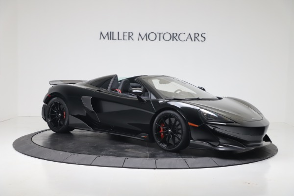 Used 2020 McLaren 600LT Spider for sale $249,900 at Bugatti of Greenwich in Greenwich CT 06830 5