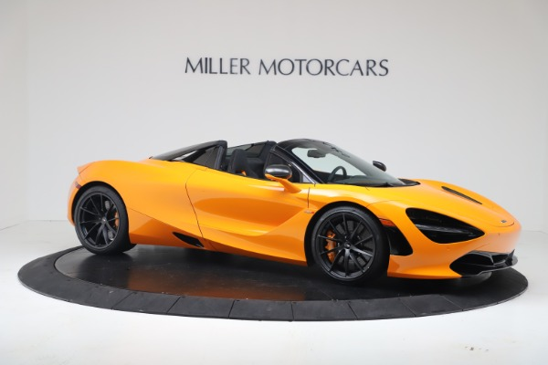 New 2020 McLaren 720S Spider Convertible for sale $374,440 at Bugatti of Greenwich in Greenwich CT 06830 10