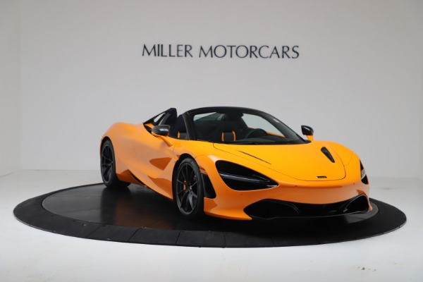 New 2020 McLaren 720S Spider Convertible for sale $374,440 at Bugatti of Greenwich in Greenwich CT 06830 11