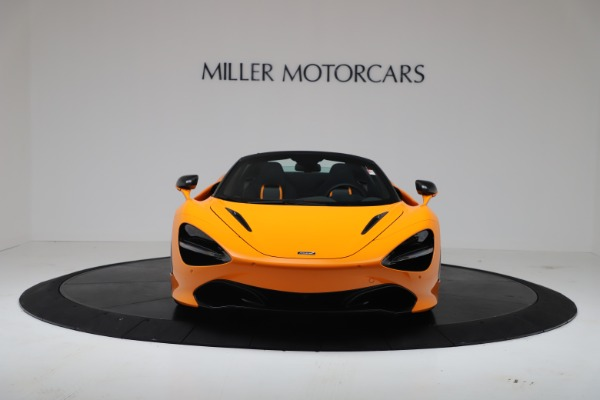 New 2020 McLaren 720S Spider Convertible for sale $374,440 at Bugatti of Greenwich in Greenwich CT 06830 12