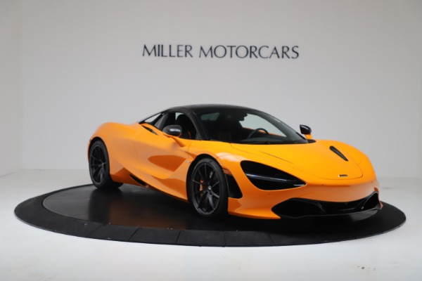New 2020 McLaren 720S Spider Convertible for sale $374,440 at Bugatti of Greenwich in Greenwich CT 06830 14