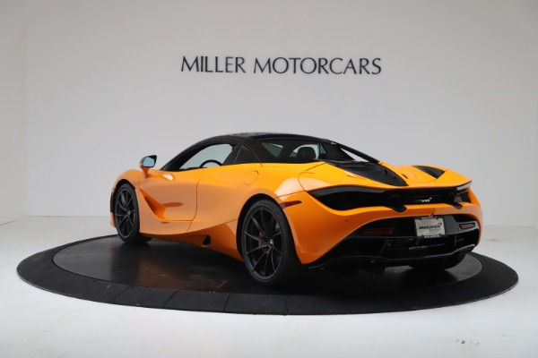 New 2020 McLaren 720S Spider Convertible for sale $374,440 at Bugatti of Greenwich in Greenwich CT 06830 16