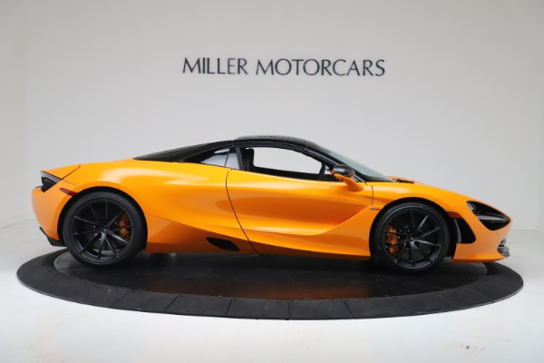 New 2020 McLaren 720S Spider Convertible for sale $374,440 at Bugatti of Greenwich in Greenwich CT 06830 18
