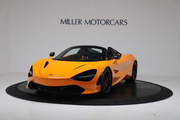 New 2020 McLaren 720S Spider Convertible for sale $374,440 at Bugatti of Greenwich in Greenwich CT 06830 2