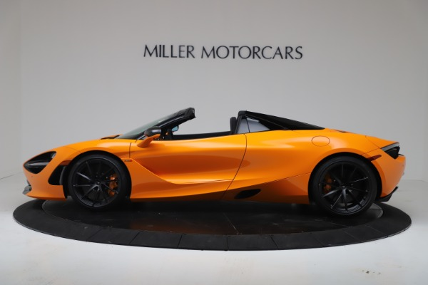 New 2020 McLaren 720S Spider Convertible for sale $374,440 at Bugatti of Greenwich in Greenwich CT 06830 3