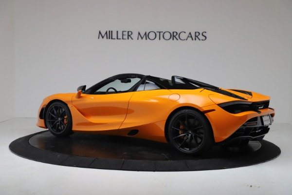 New 2020 McLaren 720S Spider Convertible for sale $374,440 at Bugatti of Greenwich in Greenwich CT 06830 4