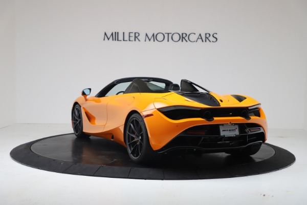 New 2020 McLaren 720S Spider Convertible for sale $374,440 at Bugatti of Greenwich in Greenwich CT 06830 5