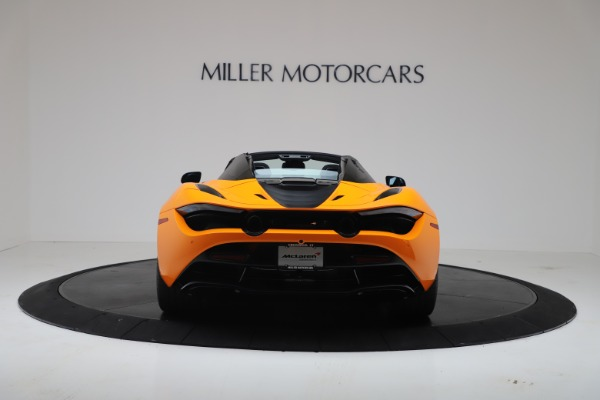 New 2020 McLaren 720S Spider Convertible for sale $374,440 at Bugatti of Greenwich in Greenwich CT 06830 6